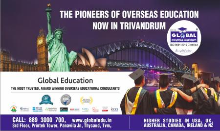 Global Education launches Trivandrum Facilitation Centre