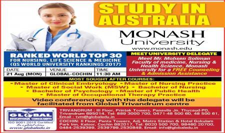 MONASH University Delegate Visit