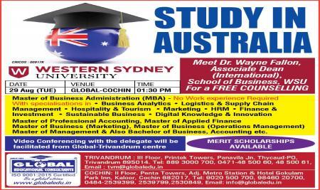 Western Sydney University Visit