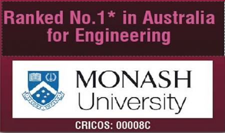 Study  in Australia's #1 ranked University for Engineering