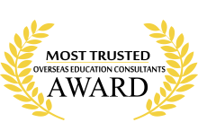 Most trusted & Award Winning Overseas Education Consultants